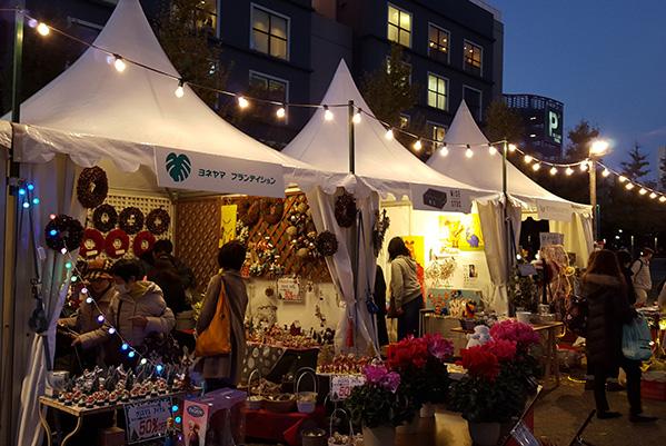 2015のクリスマスマーケットの様子